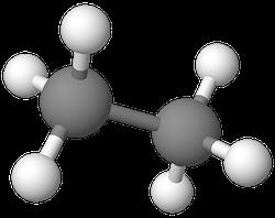 PNG Ethan Molekülmodell