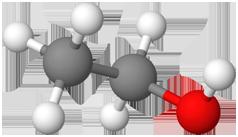 PNG Ethanol Molekülmodell
