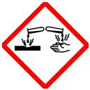 GHS-Symbol ätzend