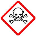 GHS-Symbol giftig, sehr giftig