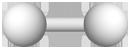 PNG Wasserstoff Molekülmodell
