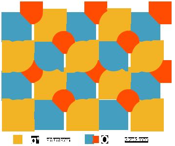 PNG Ionenkristall Natriumhydroxid schematisch