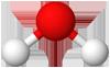 PNG Wasser Molekülmodell
