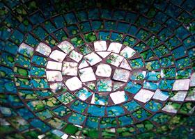 JPG Glasmosaik einer Schale