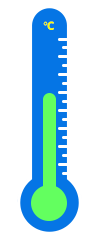 PNG Temperatur mit dem Thermometer ermitteln